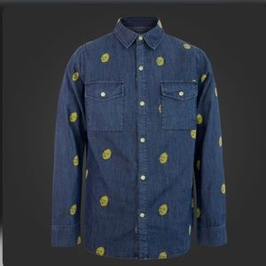 ADVENTURE TIME | Lemongrab Button up Denim Shirt